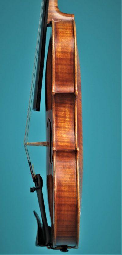 Full size violin, A.But, Utrecht 1936, Lucienne vioolbouw De Luthiers Dordrecht, side