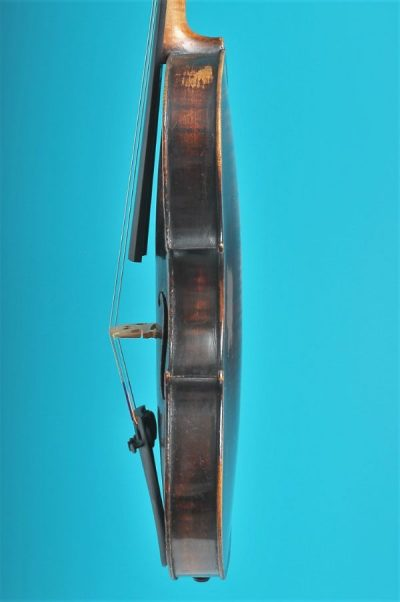 Full size violin, Turner 1820, London, side