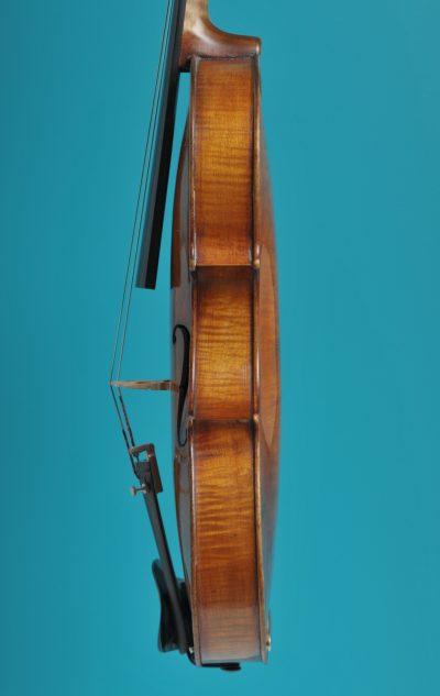 Viola Side, Mathias Albanus fecit in Tirol Bolsani 1693 LOB 38,2 cm De Luthiers Lucienne vioolbouw Dordrecht