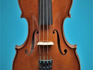 Full size violin, Alexander Oosten 1987, top. Lucienne vioolbouw De Luthiers Dordrecht