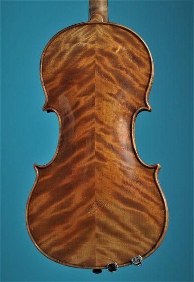 Full size violin L'Arts Atelier 1930, back, Lucienne vioolbouw De Luthiers Dordrecht