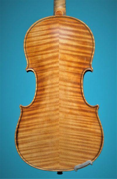 Full size violin, Paul Baily 1906 Paris, back