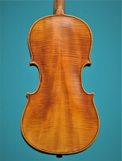 Half size violin, Germany begin 20 th. century Lucienne Vioolbouw Dordrecht back