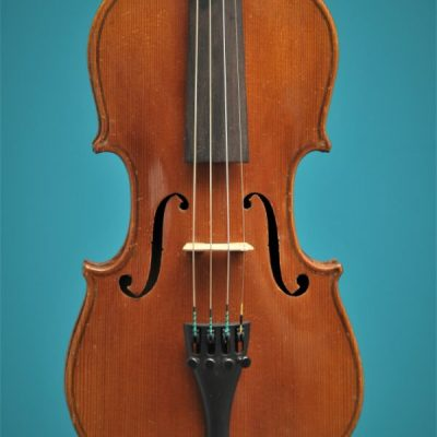 Half size violin, Germany begin 20 th. century Lucienne Vioolbouw Dordrecht top