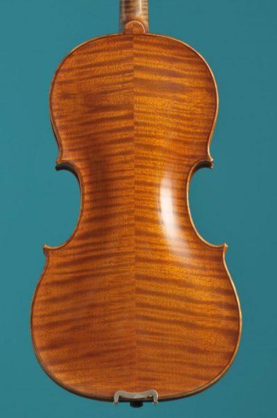 back High Glass violin Aberdeen 1920 Lucienne Vioolbouw De Luthiers Dordrecht