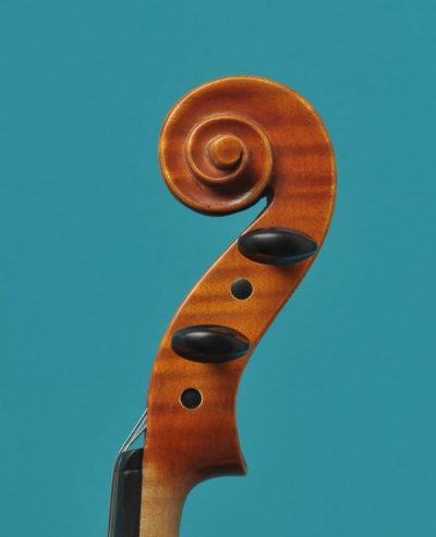 Klaus Heffler viool Lucienne van der Lans Vioolbouw De Luthiers Dordrecht