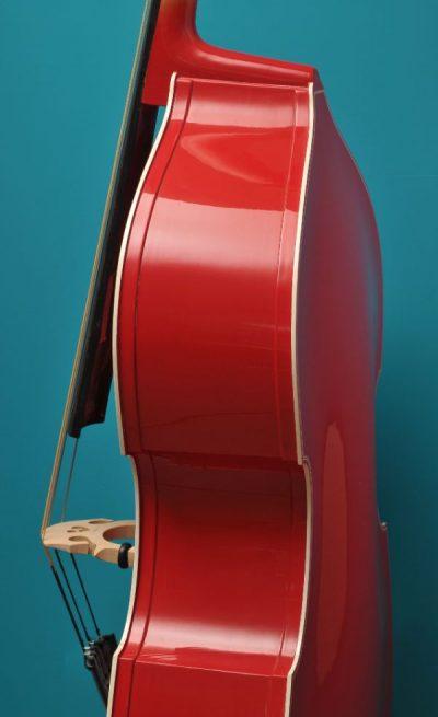 Rockabilly bass Lucienne van der Lans Vioolbouw De Luthiers Dordrecht