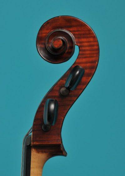 Remenyi Laszlo cello Budapest 1958 Lucienne van der Lans vioolbouw De Luthiers Dordrecht