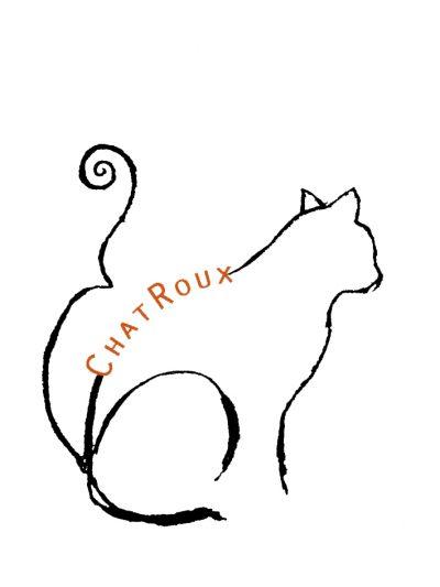'ChatRoux' letterlijk uit het Frans vertaald 'rode kat' maar met een knipoog vernoemd naar Gaelle Charroux die sinds 2018 in het vioolbouwatelier Lucienne van der Lans Dordrecht werkzaam is.