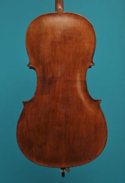 78 cello midden 18'eeuw vioolbouwatelier Lucienne van der Lans Dordrecht