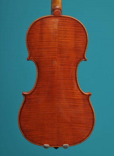 Violin Petko Petkov Kazanlak Bulgary 2000 vioolbouw atelier lucienne van der Lans Dordrecht