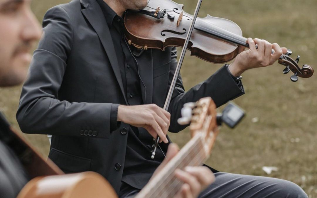 In 't licht! violist Ozan Cetinkaya