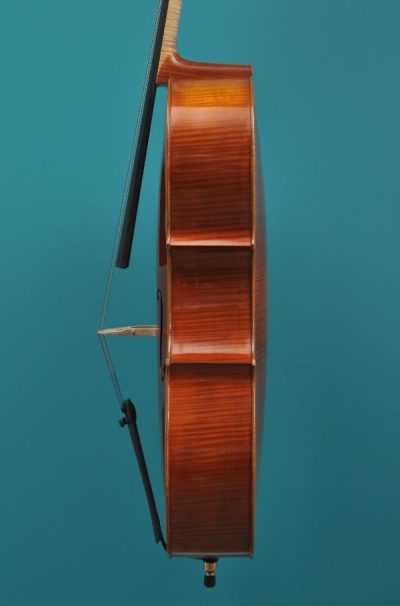 Cello atelier Demeter Roemenië 2021 Lucienne Vioolbouw De Luthiers Dordrecht