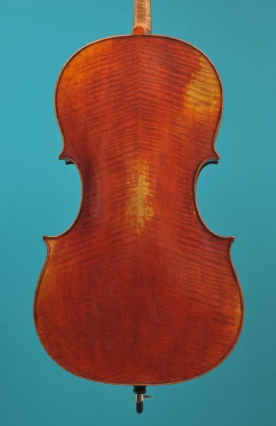 Ruggeri cello JayHaide Lucienne vioolbouw De Luthiers Dordrecht 2021